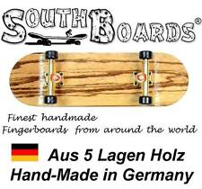 EDEL Board SET ZEBRA/GO/SWZ - SOUTHBOARDS® Handmade Wood Fingerboard Deck, Holz