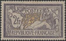 "FRANCE STAMP TIMBRE N° 122 "" MERSON 2F VIOLET ET JAUNE "" NEUF x TB  K029"