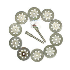 5*Mini Diamond Tipped Discs Rotary Drill Wheel Grinding Cut Off Blade
