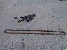 "PRE WAR SKIP-TOOTH BIKE CHAIN W/MASTER LINK OFF A 20"" COLSON 43 LINK FITS MANY"