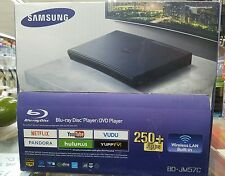 BNIB Samsung BD-JM57C Smart Blu-ray/DVD/Wi-Fi Player~HDMI cable~Dolby~Apps ready