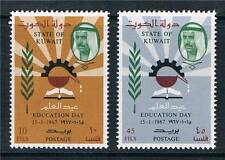 Kuwait 1967 Education Day SG 345/6 MNH