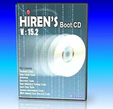 HIRENS Bootcut CD di utilità, FIX registro virus dell' HDD problemi PC / Laptop Nuovo