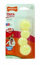 Nylabone Dura Chew Knobby Stick Durable Nylon Bacon Flavored Regular Dog Toy