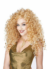 Adult Long Blonde Disco Diva Do Costume Wig