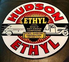 Hudson Gas Oil gasoline sign
