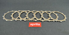 NEW GENUINE APRILIA MOTO' 6.5 650/PEGASO 650 7xLINED CLUTCH DISC 3.5mm AP0259210