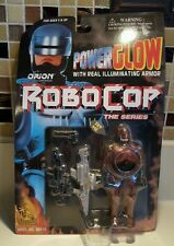 New NRFB 1995 Power Glow RoboCop Action Figure W/ Illuminating Armor Toy Island