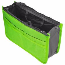 Green Travel Bag Storage Case Zipper Organizer Hand Bag Makeup Cosmetic Toiletry