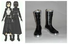 Sword Art Online 2 Bullet Gun Gale Kirito Cosplay Boots Boot Shoes Shoe