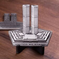 September 11th 9/11 Tribute Memorial Challenge Coin United We Stand