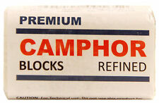 Camphor Block 4 Tablets Premium High Quality Refine Sanvall No Residue bed bugs