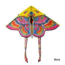 90cm funny Colorful Traditional Chinese Butterfly Kite Without String Black Tail