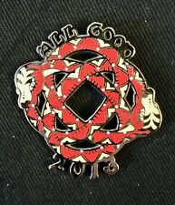 All Good 2013 Festival Pin snake Legend Valley Furthur Pretty Lights STS9 Primus