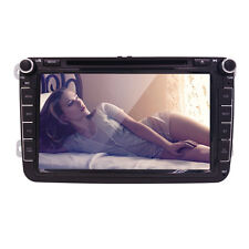 8inch 2 Din Car DVD Player GPS Navigation for VW SAGITAR PASSAT CC SKODA 12V8