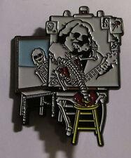 GRATEFUL DEAD METAL LAPEL PIN NEW  OOP LICENSED LIMITED GARCIA