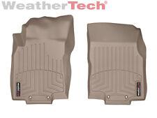 WeatherTech® Floor Mats FloorLiner for Nissan Rogue - 2014-2017 - 1st Row - Tan