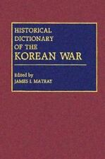 Historical Dictionary of the Korean War-ExLibrary