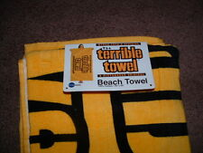 "MYRON COPES OFFICIAL GOLD TERRIBLE TOWEL BEACH TOWEL 30"" x 60"" inches NEW"