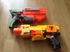 nerf guns: vigilon and n strike barricade rv-10.
