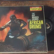 GUY WARREN SOUNDS - THEMES FOR AFRICAN DRUMS 1959 VINYL LP jazz funky MUST HAVE