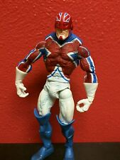 HASBRO MARVEL LEGENDS CAPTAIN BRITAIN loose COMPLETE figure GIANT MAN SERIES