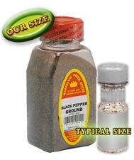 BLACK PEPPER GROUND, packed weekly in large jars
