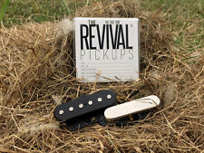 THE REVIVAL PICKUPS RPT 6 GOLD ALNICO V/II SET f. TELE® 7.5+9k THE TRUE TONE