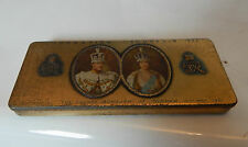 Rowntree And Co 1937 King George VI Coronation tin 15cmx6cmx2 cm Oldham exclusiv