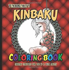 Punchdrunkey's Kinbaku Coloring book  by Punchdrunkey Artist [Paperback] NEW