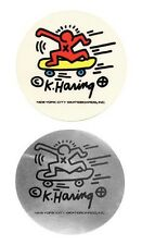 Vintage Keith Haring skateboard stickers 1980s Pop Shop