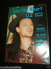 U2 INTO THE HEART AUSTRALIAN MAGAZINE ISSUE 7 1989 SIMPLE MINDS