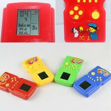 Classic Vintage LCD Electronic Handheld Tetris Brick Game Console Toys Gift