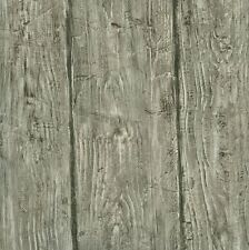 HTM49415 Rodeo Grey Wood Wall Wallpaper  DOUBLE ROLL  MAKE ME OFFER