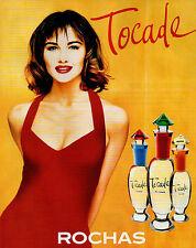 Publicité Advertising 1996  Parfum  Tocade de ROCHAS