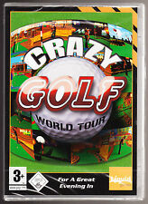 CRAZY GOLF WORLD TOUR - AGE 3+ - WINDOWS 98/XP - PC CD-ROM GAME - NEW & SEALED