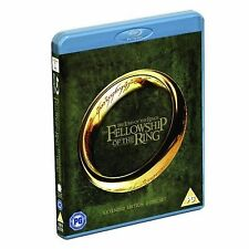 The Lord of the Rings The Fellowship of the Ring Extended Blu ray New Sealed UK