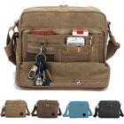 New Men's Multi-function Canvas Shoulder Briefcase Handbag Satchel Bags AB190