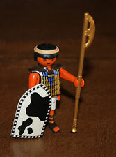 Playmobil personnage Egypte pyramide soldat bouclier hallebarde 4245 ref cc