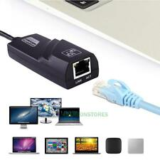 USB 3.0 Gigabit Ethernet Lan RJ45 Network Adapter Hub to 10/100/1000Mbps for PC