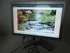 "Dell 22"" Widescreen Monitor 4-Port USB Hub Webcam DVI VGA HDMI G494H SP2208WFPt"