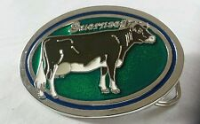GUERNSEY COW LIVESTOCK FARMING ANIMAL BELT BUCKLE MADE IN USA NEW