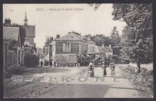 FRANCE BIZY 01 CPA ROUTE D'ÉVREUX Cartolina  CPA