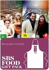 French & Italian Food Safari DVD - Limited Edition Apron Gift Pack