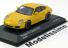 1:43 Minichamps Porsche 911 (997 II) Carrera GTS Coupe 2011 yellow