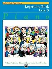 ALFRED'S BASIC PIANO LIBRARY, REPERTOIRE BOOK LEVEL 5