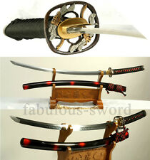 TOP QUALITY JAPANESE FUNCTIONAL SAMURAI TACHI SWORD HAND POLISH AND FORGED