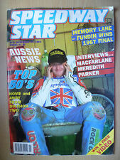 SPEEDWAY STAR MAGAZINE-Top 50's-Memory Lane-Fundin Wins 1967 Final,27 Nov 1993