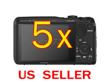 5x Sony CyberShot DSC-HX30V Clear LCD Screen Protector Guard Shield Film
