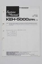 pioneer cassette keh pioneer keh 5000zrn original service manual guide wiring diagram o58